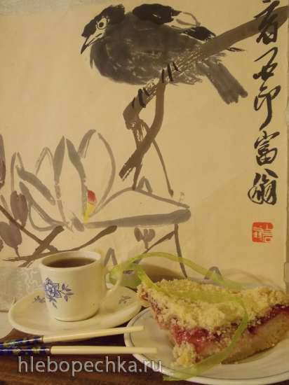 Ватрушка постная в японском стиле с тофу Ватрушка постная в японском стиле с тофу
