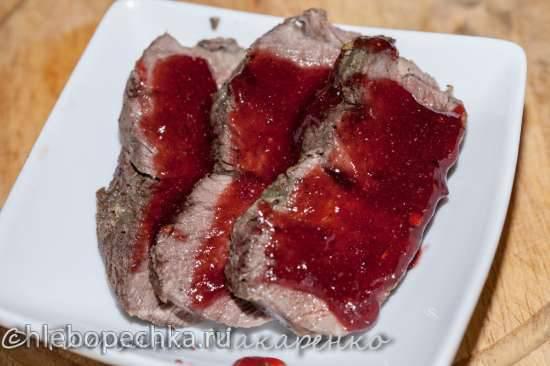 Мясо почти по бразильски (мультипечь DeLonghi FH1394 - кузинка)