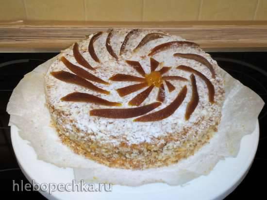 Торт Творожный (ГОСТ-1975)
