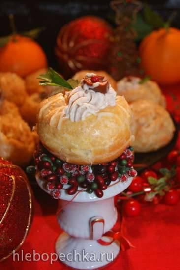 Обсуждаем новогоднее меню 2018 Закусочные пирожные из заварного теста