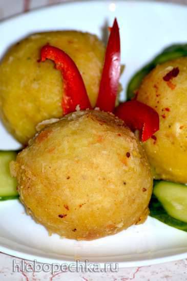 Фаршированная картошка по-перуански (Papa rellena) Фаршированная картошка по-перуански (Papa rellena)
