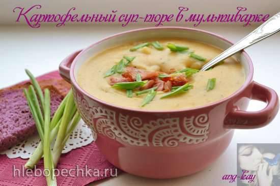 Картофельный суп-пюре в мультиварке DEX-60 Картофельный суп-пюре в мультиварке DEX-60