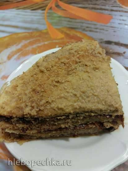Тортик диетический в вафельнице