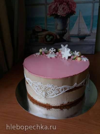 """Торт """"Кофе - карамель"""""""