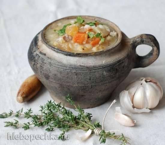 Шотландский перловый суп