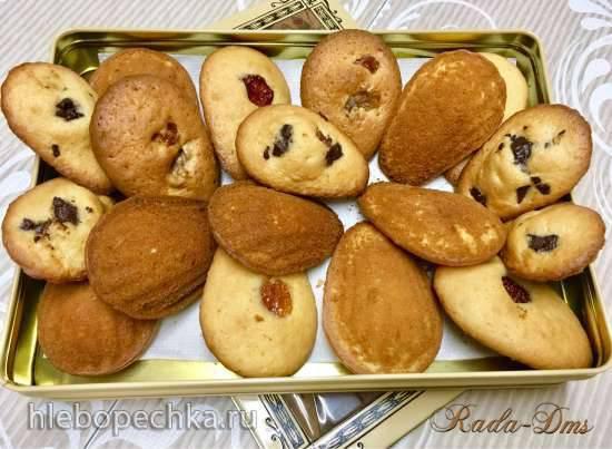 Пирожное Мадлен по рецепту (микс) Александра Дюма и Гордона Рамзи (печенница Princess 132404)