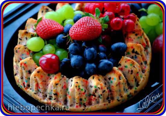 """Кекс """"Конфетти"""" из мороженого"""