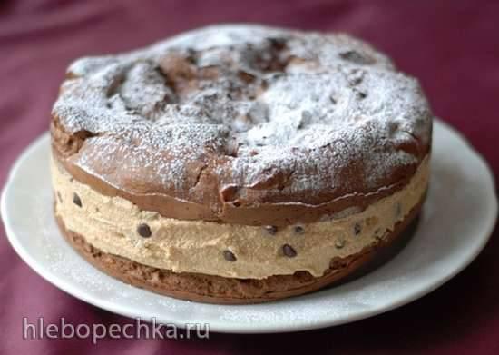 Заварной пирог Карпатка шоколадная