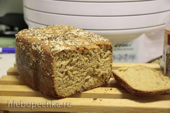 Цельнозерновой хлеб Диетический в хлебопечке