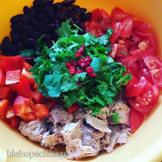 База (основа) салата из консервированного тунца