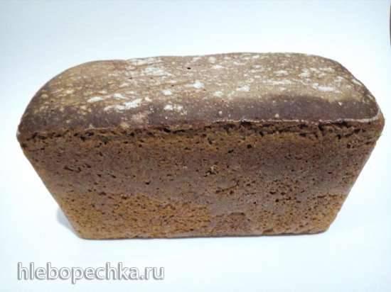 Ржано-пшеничный хлеб на ржаной закваске