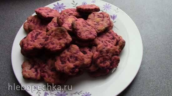 Печенье со свеклой
