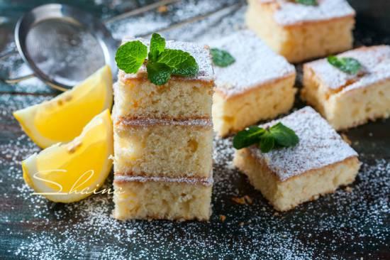 Самый лимонный пирог Нежный