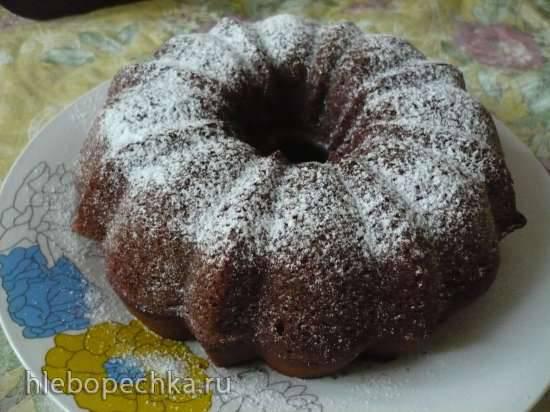 Шоколадный кекс на сыворотке (Кексница GFW-025 Keks Express)