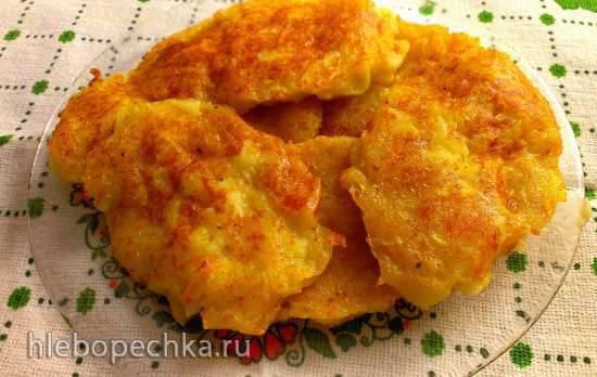 Боксти - ирландские картофельные блинчики
