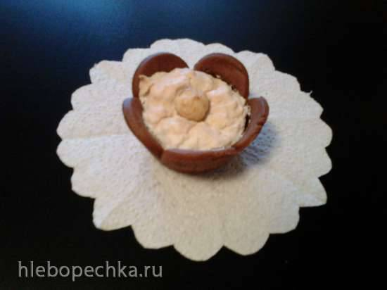 Пирожное Цветок магнолии
