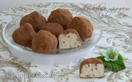 Чизкейковые трюфели