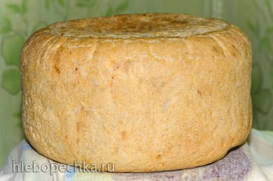 """Хлеб луковый с паприкой и хлопьями """"4 злака"""" Хлеб луковый с паприкой и хлопьями """"4 злака"""""""