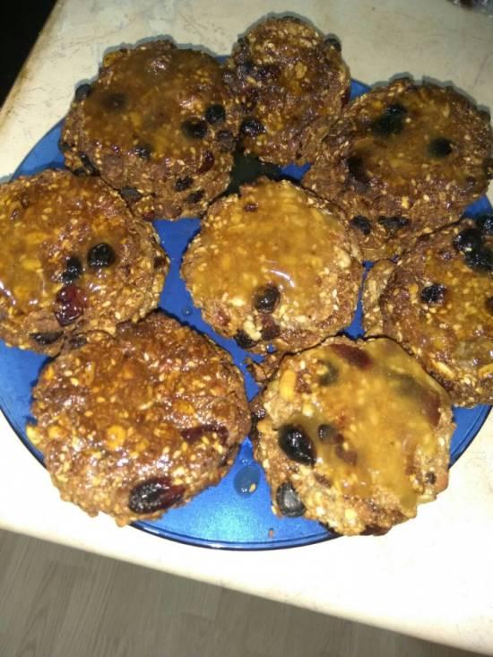 Ореховое печенье без муки Минутка