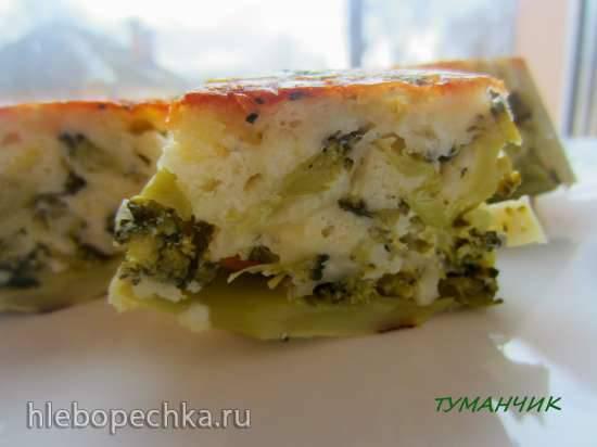 Кексы из брокколи и сыра для сытного завтрака Кексы из брокколи и сыра для сытного завтрака