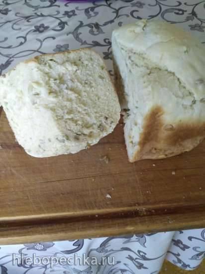 Philips HD9016. Хлеб с семечками (Экспресс)