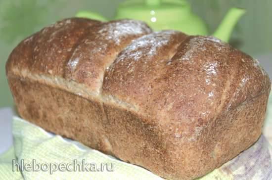 Хлеб зерновой пшеничный на пророщенной ржи