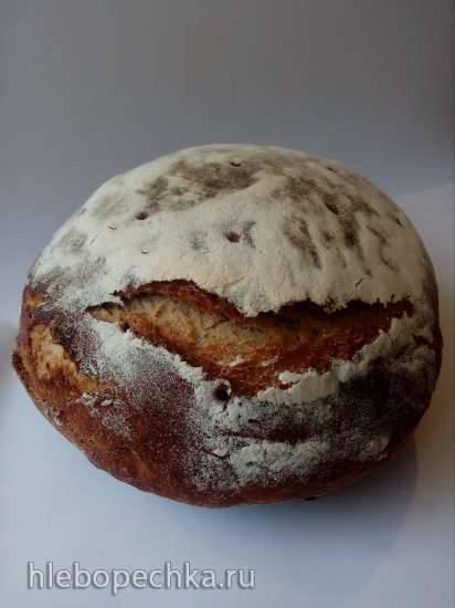Литовский праздничный хлеб с тмином