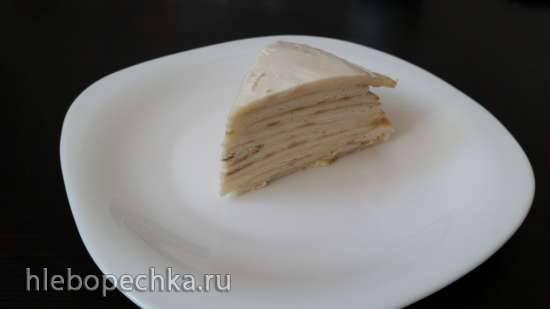 Сметанный торт (Чапатница или сковорода)