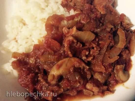 Рагу из свинины для медленноварки
