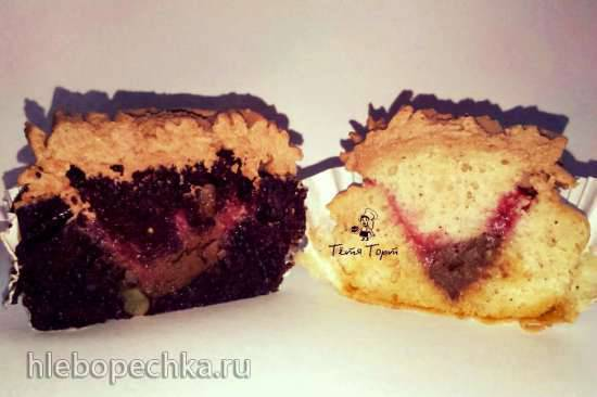 Бисквит Черный Принц для торта или капкейков