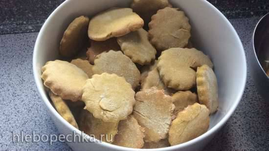 Фруктовое печенье без яиц, без глютена