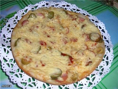 Пицца в мультиварке Panasonic SR-TMH18