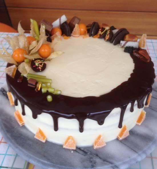 Торт С творожным кремом. ГОСТ-1983