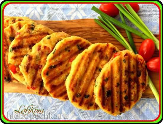 Оладьи из хлеба После пикника