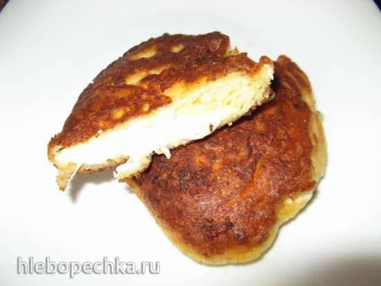 Оладьи в стиле хачапури Оладьи в стиле хачапури