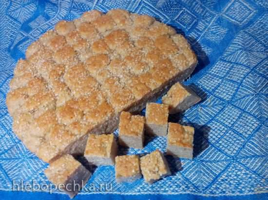 Хлеб Пшенично-ржаной на закваске (прибор для выпечки Tortilla Chef 118000 Princess)