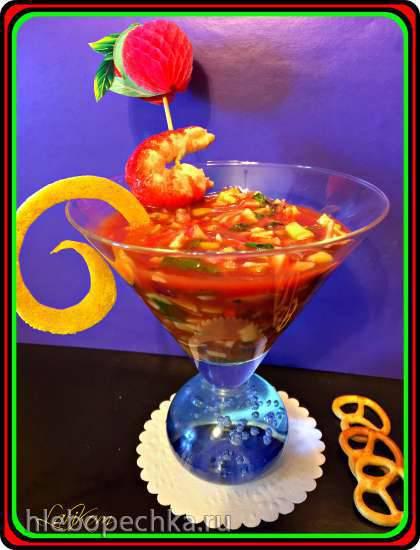 Морской томатный коктейль