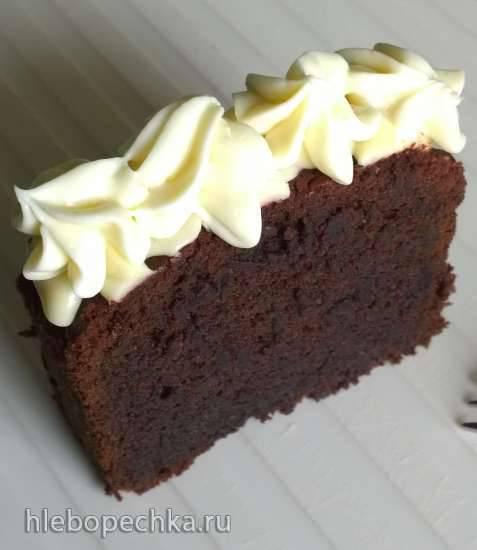 Шоколадный кекс со свёклой