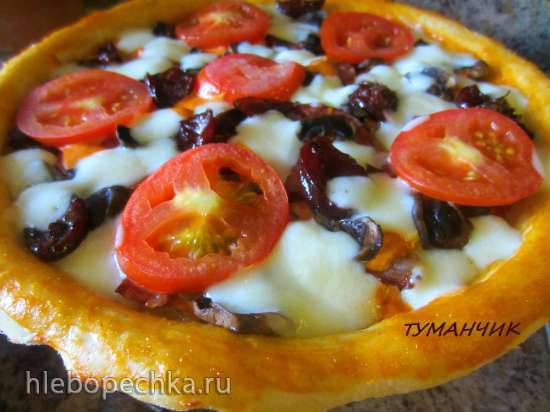 Пицца в Мультипечи GFB-1500 PIZZA-GRILL или Как это делаю я)Пицца в Мультипечи GFB-1500 PIZZA-GRILL или Как это делаю я)