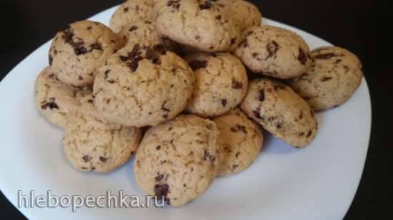 Американское печенье с шоколадной крошкой (Сhocolate chip cookies) - Пиццамейкер Princess