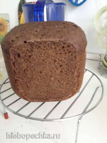 Ржано-пшеничный хлеб с солодом на ржаной закваске Ржано-пшеничный хлеб с солодом на ржаной закваске