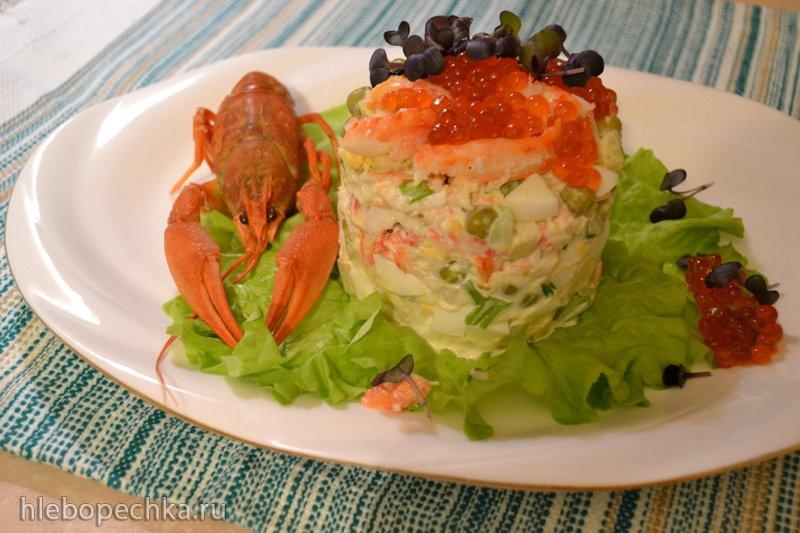 Современный салат «Оливье» (он же «Московский», он же «Столичный», он же «Собственная фантазия») Современный салат «Оливье» (он же «Московский», он же «Столичный», он же «Собственная фантазия»)