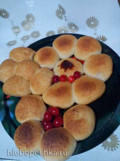 """Украинская кухня Пирожки с вишней """"Дикие кошечки"""" (Прибор для выпечки Tortilla Chef 118000 Princess, мини-печь DeLongy XU 440, аэрофритюрнтца Philips HD 9220/20)"""