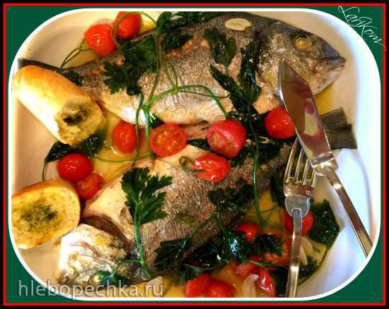 Морской лещ в бешеной воде (Seabream in Creazy Water)