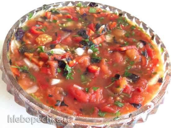 Соус из запеченных помидор