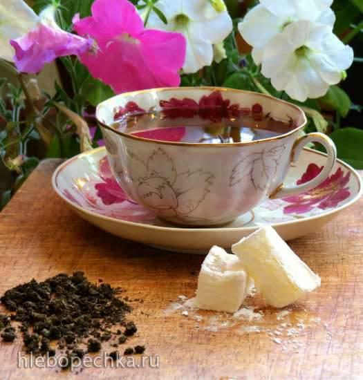 Томленый ольхово-малиновый чай Томленый ольхово-малиновый чай