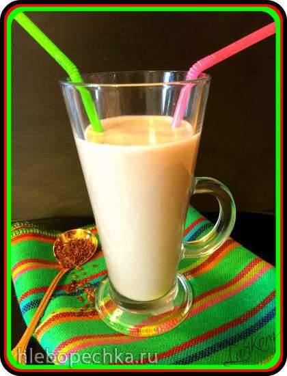 Молоко из льняного семени в блендере-суповарке Endever Skyline