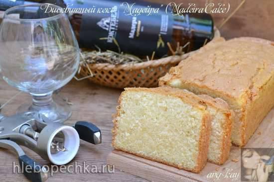 Бисквитный кекс Мадейра (Madeira Cake)