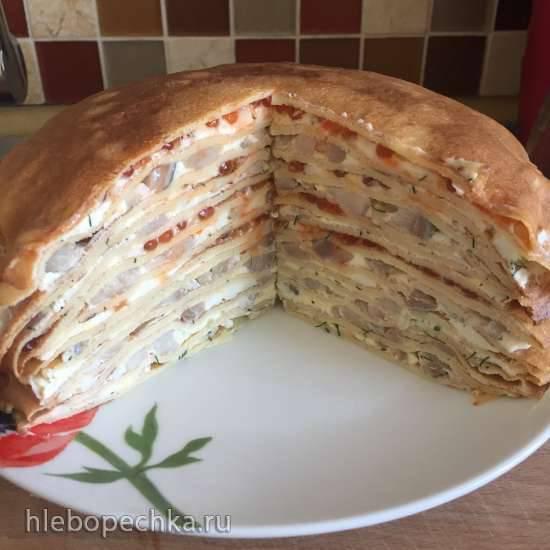 Блинный торт Закусочный