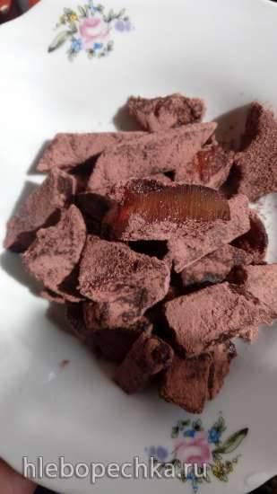 Облепиховый мармелад в какао Облепиховый мармелад в какао